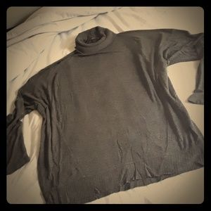 🖤Zara W&B Collection Turtleneck Sweater Tee🖤